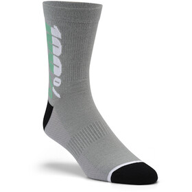 100% Rythym Chaussettes, charcoal
